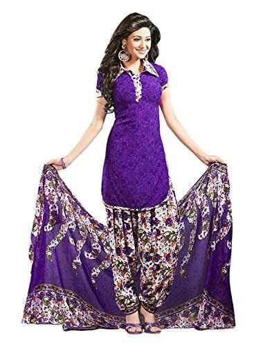Purple Salwar - 4