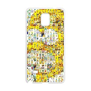 Homer Simpson's For Samsung Galaxy Note4 N9108 Csae protection phone Case FXU309660