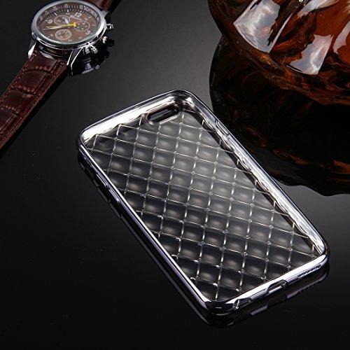 Phone Taschen & Schalen Für iPhone 6 Plus & 6s Plus Argyles Texture Galvanisieren Soft TPU Schutzhülle Fall ( Color : Black )