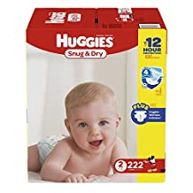 Huggies Snug & Dry diapers, 222 count Step 2 Econo Plus