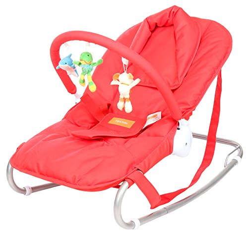 Tiffy and Toffee Baby Shower Bouncer and Rocker (Electric Red)