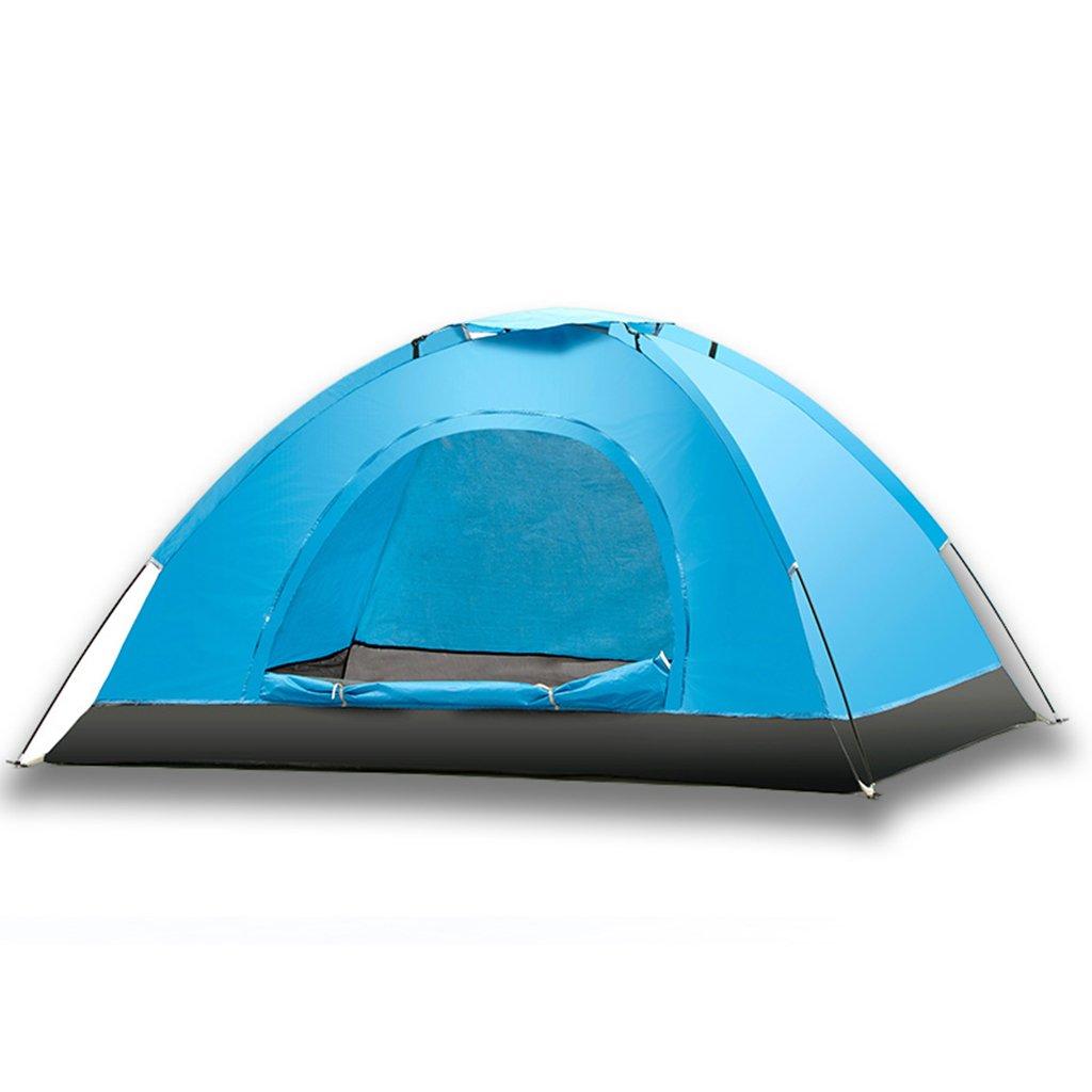 屋外の手のテント、4つの異なる季節78 * 59 * 47Inchに適した蚊耐二人キャンプの天幕  Blue B07CRG3FCM