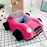 Podster Baby Lounger Kids Lounger Chair Kids Bean BBag Plush Seat for Baby Car Plush Sofa for Baby (pink)