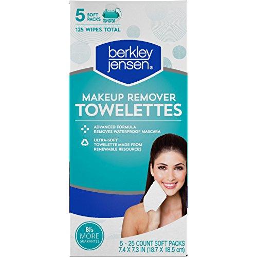 Berkley Jensen Make Up Remover Facial Towelettes, 125 ct ...