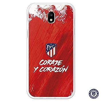 Atlético de Madrid Carcasa Coraje y Corazón para Samsung Galaxy J5 2017