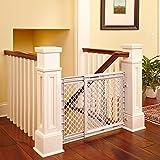 Cheap Baby Safety Gate Walk Thru Easy Step Toddler Infant Dog Fence Pet Child Stairway