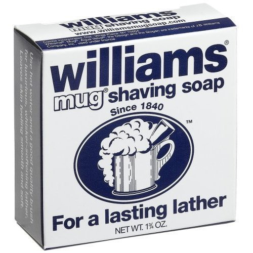 Williams Mug Shaving Soap, 6 Count