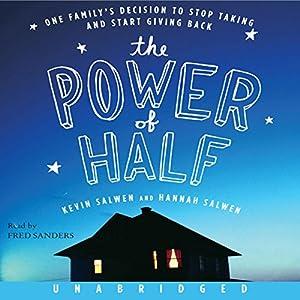 The Power of Half Audiobook