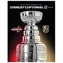 Official Vegas Golden Knights vs. Capitals NHL 2018 Stanley Cup Final Bound Dueling Program