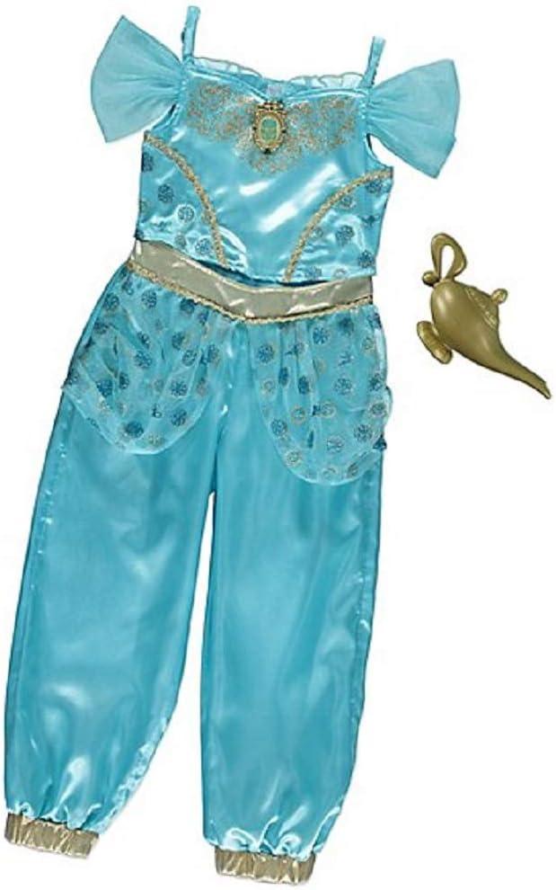 George Disfraz de Jasmine para niñas de la Princesa Disney: Amazon ...