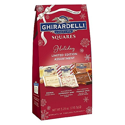 (Ghirardelli Chocolate Squares Holiday Limited Edition Assortmet 5.29 oz - (Pack of 3))
