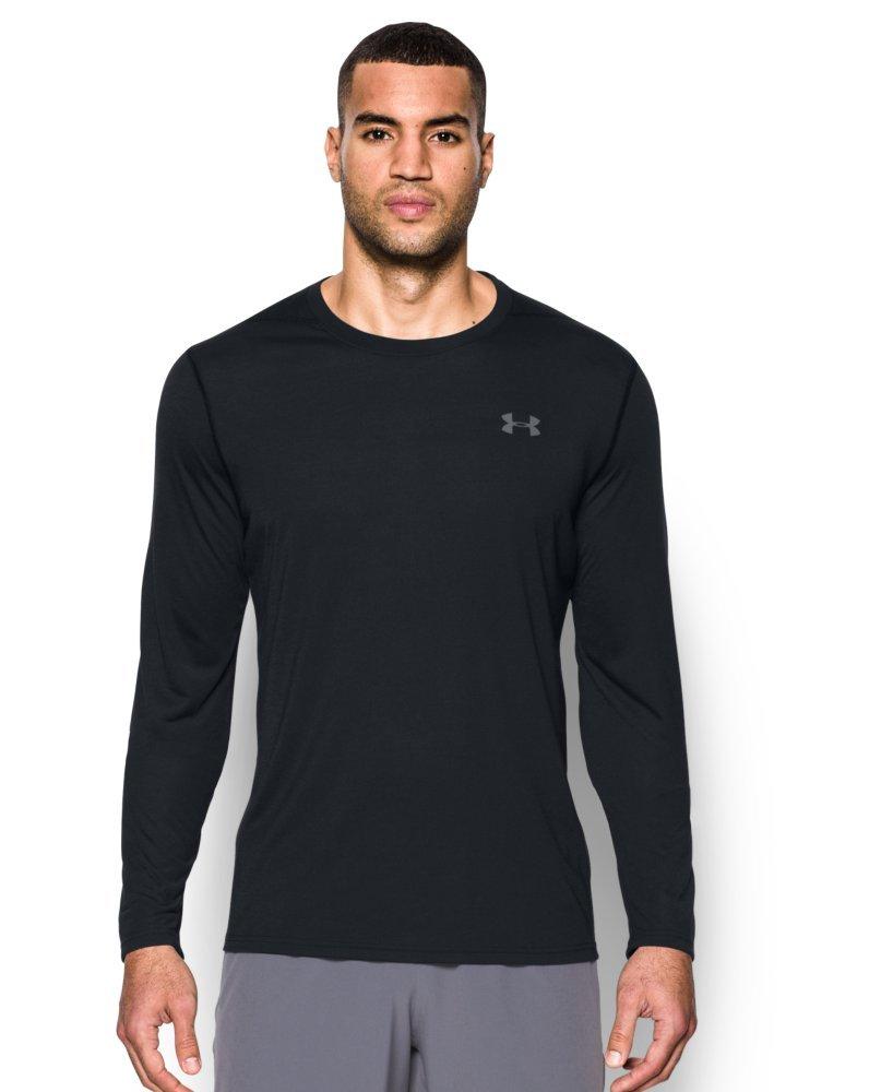 bb0c2969 Under Armour Men's Threadborne Siro Long Sleeve T-Shirt, Black (001 ...