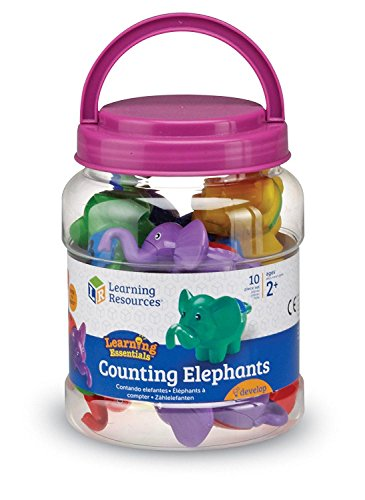Learning Resources Counting Elephants, Set of 10
