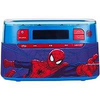 Spiderman Molded Bluetooth Clock Radio