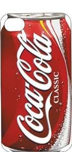 iphone 5c (5c.5c inch) Black Rubber Case Coca-Cola Classic Can