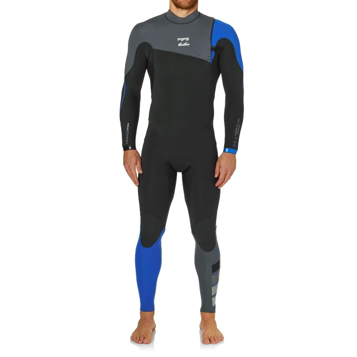 BILLABONG 2016 Furnace Pro Chest 3 2mm Zip Free Wetsuit Ocean Z43M02