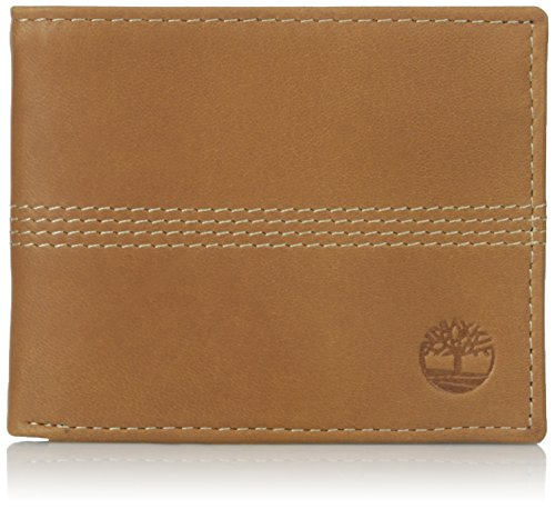 Timberland Mens Passcase Leather Wallet