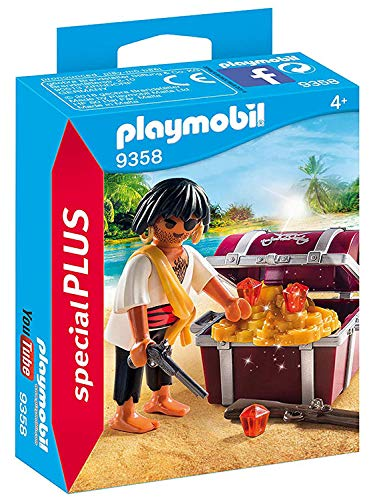 Playset Treasure Chest Pirate - Playmobil Pirate with treasure chest 9358 Playmobil special Plus Item Piratworld