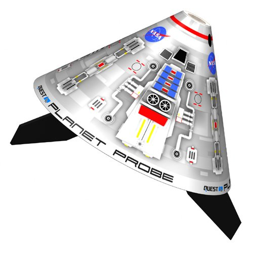 (Quest Aerospace Planet Probe Model Rocket Kit)