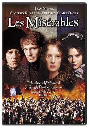 Amazon com: Les Miserables: Liam Neeson, Geoffrey Rush, Uma