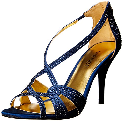 Nine West Asvelia Damen US 10.5 Blau Sandale