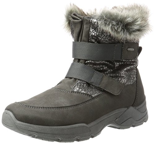 Jenny WoMen Colorado-St Snow Boots Schwarz (Graphit)