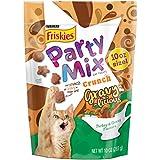 Purina Friskies Party Mix Crunch Gravylicious Cat Treats – (4) 10 Oz. Pouches