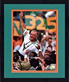 """Framed Don Shula Miami Dolphins Autographed 8"""" x 10"""" Arm In Air Photograph - Fanatics Authentic Certified"""