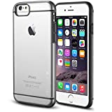 iPhone 6S case, INVELLOP GRAY/CLEAR iPhone 6 / 6S Case [Prime Series] Scratch-Resistant Clear Slim Fit Cover with Shock Absorbent TPU Hybrid Bumper Protection iPhone 6 / 6S 4.7 Case (Gray/Clear)