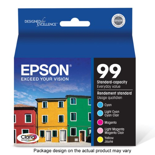 Epson T099920 Hi-Definition 99 Cartridge Color Magenta/Yellow