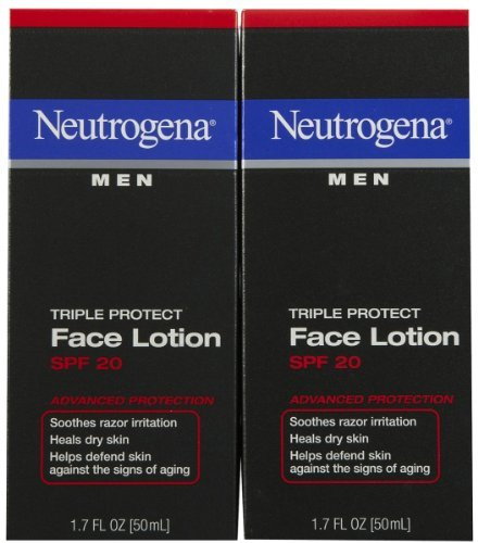 Neutrogena Triple Protect Face Lotion - Triple Protect Face Lotion,SPF 20, 1.7 oz, 2 pk