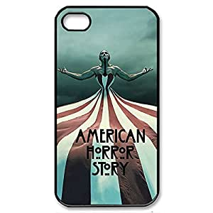 Fancy American Horror Story a Lightweight Printed Hard Plastic case Snap-on the cover for iPhone 5s- Black the 022706 specific