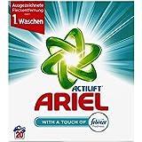 Ariel Vollwaschmittel mit Febreze Pulver, 20 Waschladungen