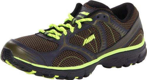 AVIA Men's Avi-Trailside Trail Running Shoe,Green Smoke/Lime Shock/Charcoal,12 M US Avi Trail Running Shoe