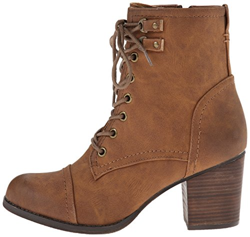 887865273226 - Madden Girl Women's Westmont Combat Boot, Cognac, 8.5 M US carousel main 4