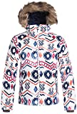 Roxy Big Girls' American Pie Snow Jacket, Waterinca, 8/S