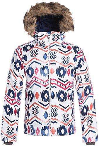 Roxy Big Girls' American Pie Snow Jacket, Waterinca, 14/XL
