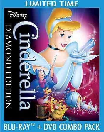 CINDERELLA-DIAMOND EDITION (BLU-RAY/DVD/2 DISC COMBO/WS) BR PKG CINDERELLA-DIAMOND EDITION (Pkg Diamond)