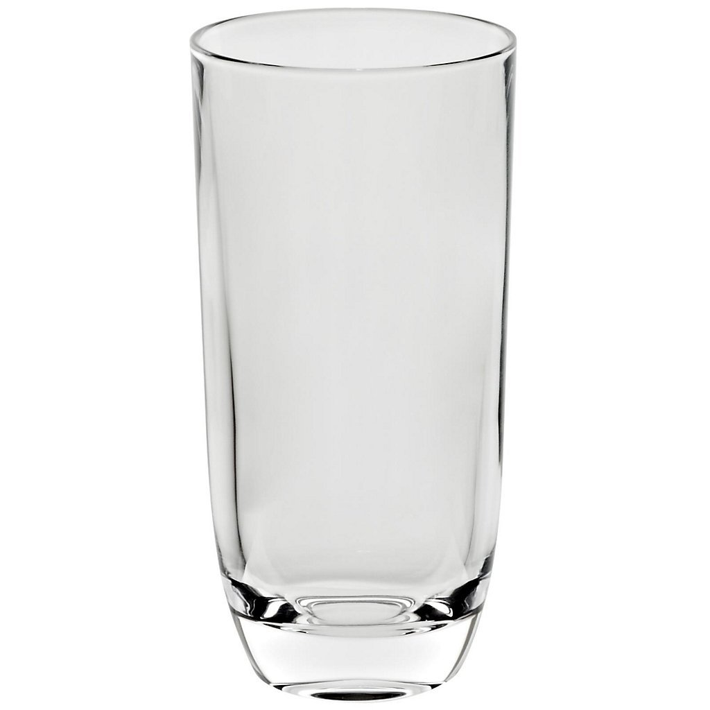 Drinking Glass, water glass ''Laguna Spirits'' 300ml, transparent, modern style, glass (GERMAN CRYSTAL powered by CRISTALICA) by CRISTALICA (Image #4)