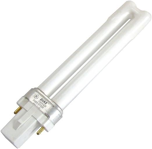 GE Biax-S 9W 2-Pin 827 Extra Warm White
