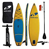 AMOR AQUA Double Layer Inflatable Standup Paddle Board 11'x33 x6 ISUP Package