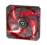 BitFenix Spectre Pro 140mm Fan - Red LED (BFF-LPRO-14025R-RP)