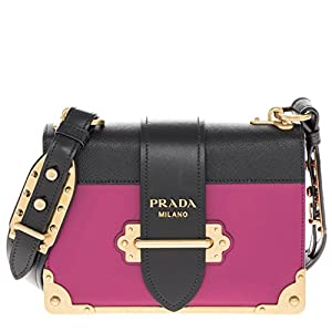 cd1573f62eb9 Prada BP0623 Papaya Orange Tessuto Impuntu Pattina Nylon and Leather ...