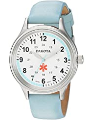 Dakota Nurse Quartz Leather Casual Womens Watch(Model: 53903)