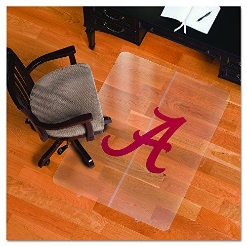 Ncaa alabama crimson tide logo foldable hard floor chairmat for Floor couch amazon