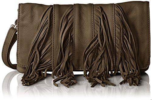 Amsterdam Cowboys Bag Shisden - Bolso Bandolera Mujer Marrón - Braun (Brown 560)