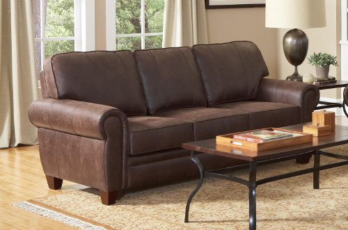 Coaster Home Furnishings 504201 Traditional Sofa, Brown
