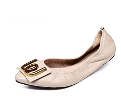 7a7e5528fc Damenschuhe, Frühjahr/Sommerschuhe, Flache Pumps, Bequeme Schuhe für  Schwangere (Farbe :