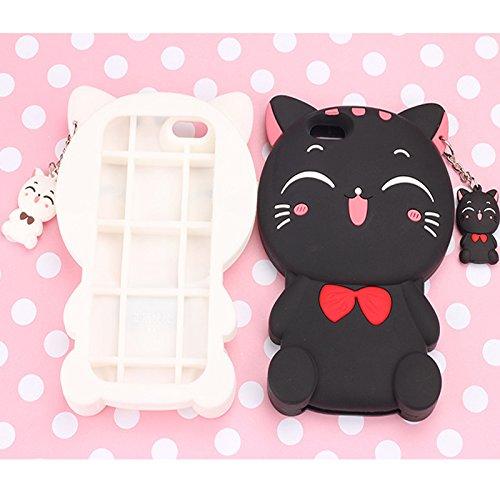 Iphone 6Plus/6S Plus (5,5 pulgadas) Funda, conjuntos de resistencia modelos animales gota de silicona koala Group ® 3D de