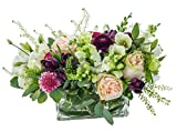 Starbright Floral Design- ''English Charm''- Hand Delivered Bouquet in Vase- New York City Area